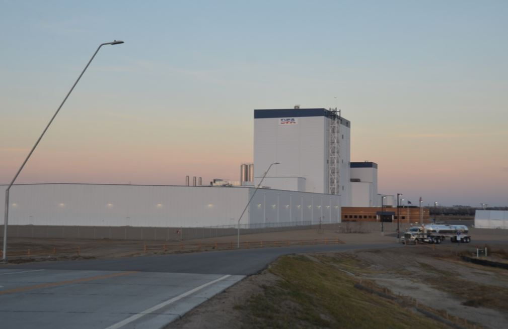 Aurora: Award-winning supplier to USA's new cutting-edge Dairy Farmers of America plant